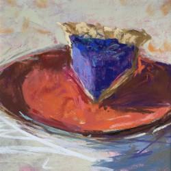 "Barbara Noonan ""A Slice of Pie""  Soft Pastel  $275"