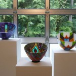 Doug Randall, kiln cast glass bowls