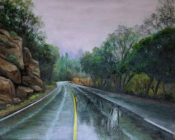 Drummond, Helen_The Road Less Traveled_22h x18w