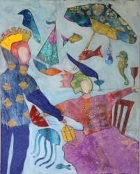 Heim, Judith_Dreaming Under Water_30h x 24w