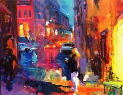 Lane, Emiliya_Color of the night_16 x 20