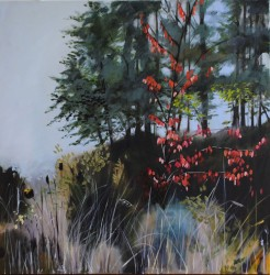 Perry, Judith, Early Fall on the Willapa, 38 x 38