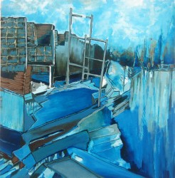 Tayler, Janice_Crumbling Walls_24 x 24