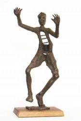 AGED PROPHET, Bronze by Phillip Levine
