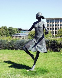 """Dance"", bronze ( Univ. of Washington)"