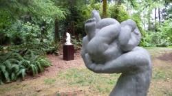 """""""Beginnings"""", marble (Matzke Sculpture Park)"""