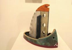 Peter Kuentzel Probe Raku ceramics $1200