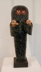 "Leon White, ""Mother"", ceramic"